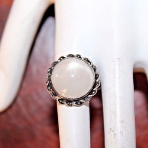 ATQ Arts & Crafts 11.85Ct Moonstone Sterling FRG1